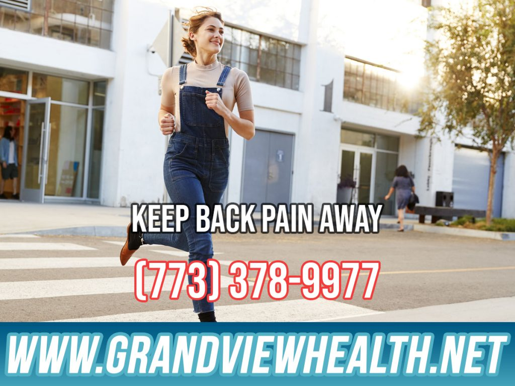 Keep Back Pain Away in Chicago