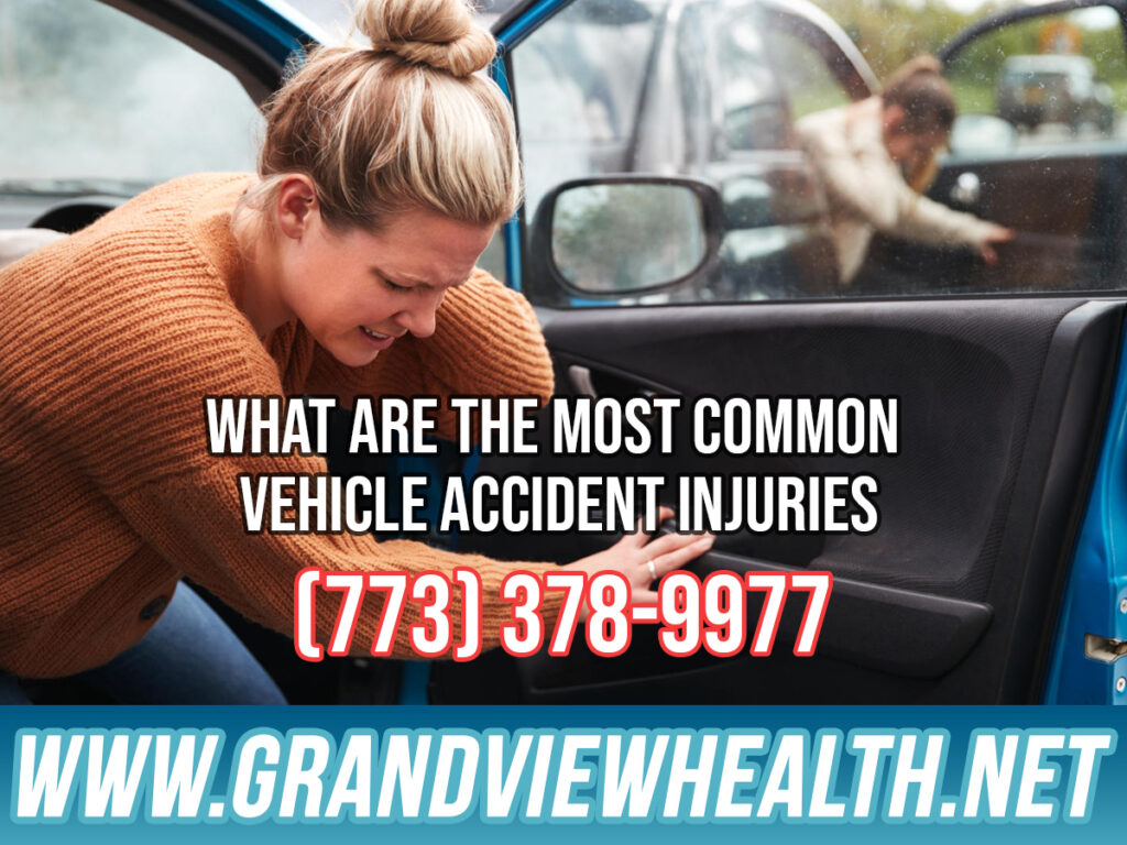 What are the Most Common Vehicle Accident Injuries in Chicago