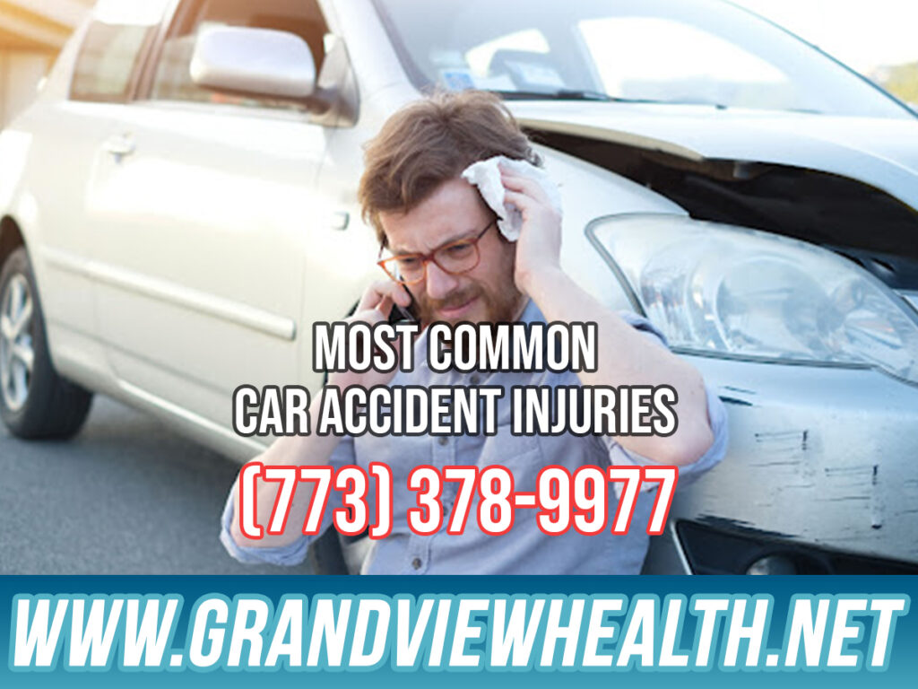 Most Common Car Accident Injuries in Chicago IL