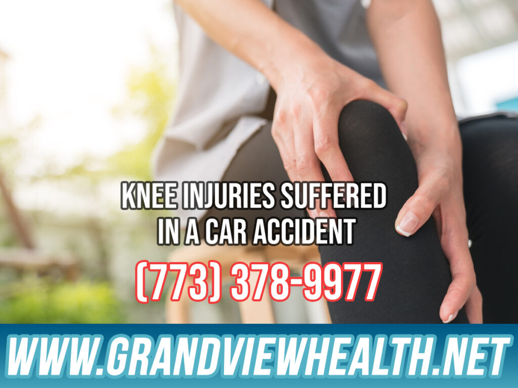 Knee Injuries Suffered in a Car Accident in Chicago